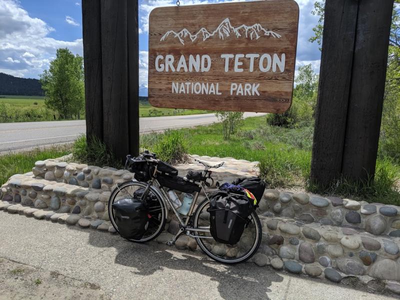 Entering Teton