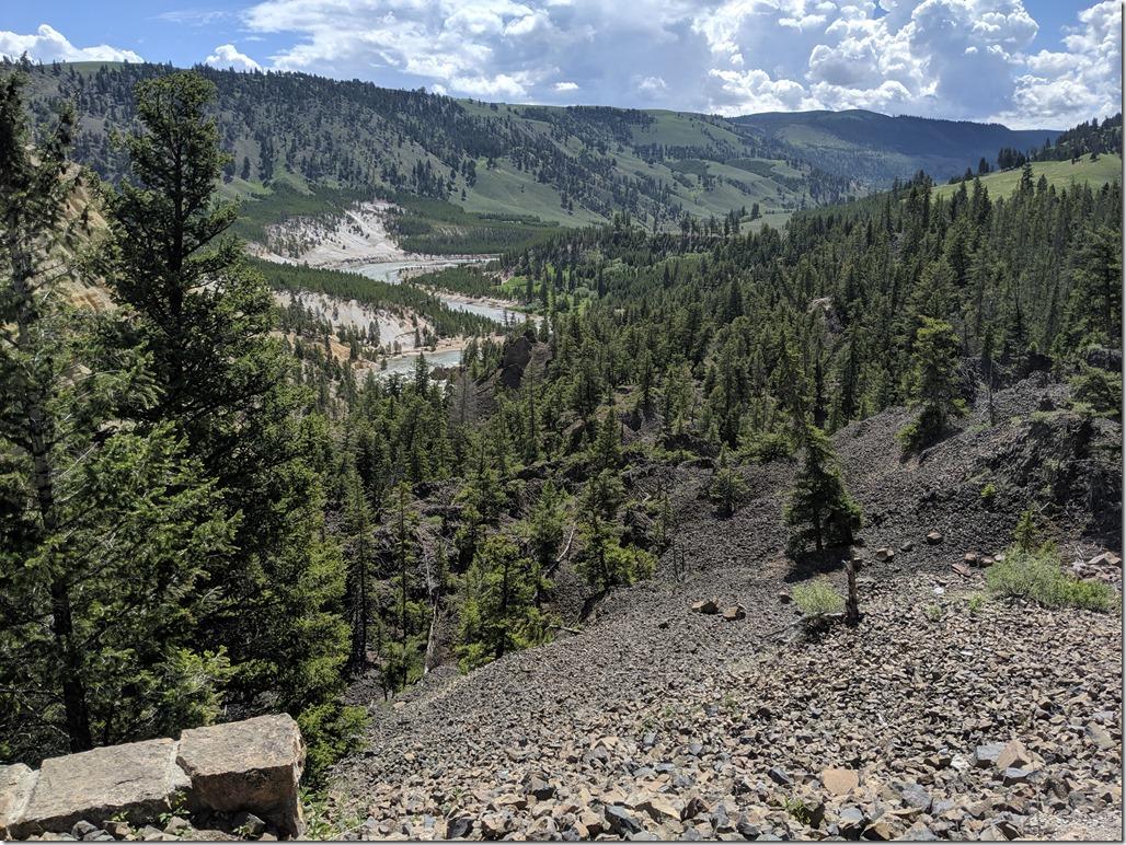 Devils Den Yellowstone River