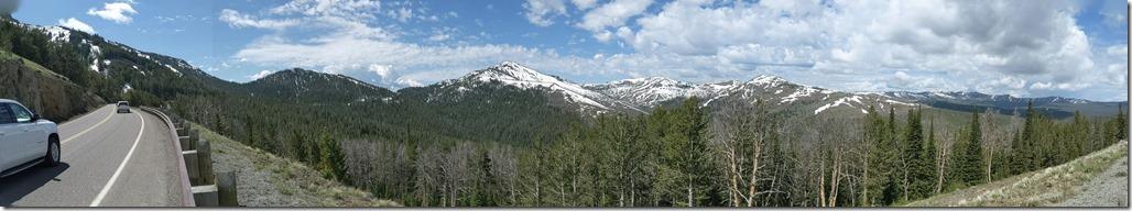 Mt Washburn Panorama